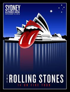 Rolling Stones '14 On Fire Tour' - Sydney, Australia - November 12, 2014