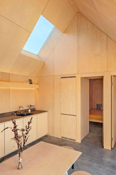 Gallery of Field House / Lookofsky Architecture - 24 Skylight Design, It Field, Swedish House, Design Fields, Forest House, Architecture Photo, House Architecture, Prefab Homes, Large Windows