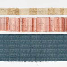 Fabrics made from organ music by Glithero to be presented in Milan. Made to Measure. Commission by Zuiderzeemuseum and TextielMuseum. On show at Ventura Lambrate. Woven at @TextielMuseum | TextielLab