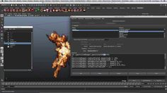 Maya Dynamics Master Class: The Art of Destruction: Learn how to create believable rigid body simulations combined with interactive fluid effects, scene management for advanced simulations, nParticles and nCloth. More info on www.vfxlearning.com