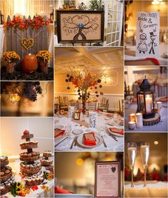 I Love Autumn Rustic Wedding Details At The Vineyards In Aquebogue