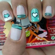 Gel Nail Designs You Should Try Out – Your Beautiful Nails Short Nail Designs, Toe Nail Designs, Simple Nail Designs, Funky Nails, Love Nails, Pretty Nails, Gel Nails, Manicure, Gel Nagel Design