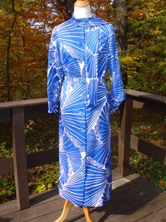 Lanvin Paris - New York Vintage Maxi Dress. $99.00, via Etsy.
