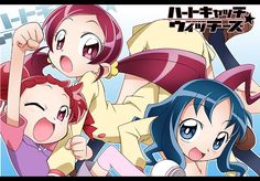 Harukaze Doremi,Kurumi Erika & Hanasaki Tsubomi