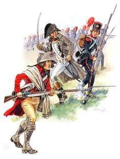 "FRANCIA - ""Consulate Period""  • Infantry conscript, 1800  • Line infantry officer, 1800  • Carabinier, 9e Légère, 1800  Patrice Courcelle"