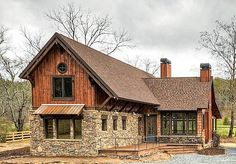 Master-Down Rustic Mountain Getaway - 18837CK | 1st Floor Master Suite, CAD Available, Loft, Mountain, PDF, Photo Gallery, Vacation | Architectural Designs