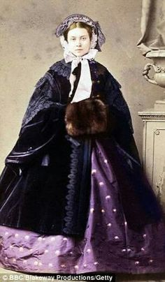 Princess Victoria, eldest daughter of Queen Victoria and mother of Kaiser Wilhelm.