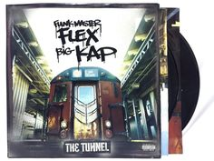 Funkmaster Flex & Big Kap - The Tunnel 2LP - LP Vinyl #Records