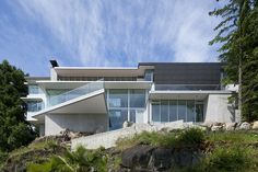 4249 House located in Vancouver, Canada designed by DGBK Architects