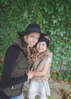 mommy and me photos shoot . fall fashion