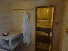 Sauna NATURHOUSE je vhodná pro 2-3 osoby.