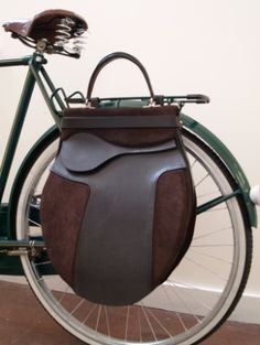 My kind of designer bag... (bicycle)