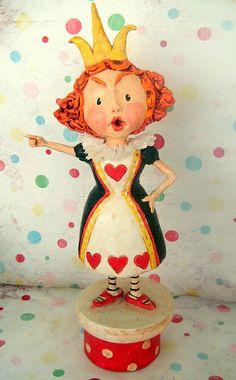 *QUEEN of HEART's ~ Alice in Wonderland ~ OFF with Her Head!! by thepolkadotpixie