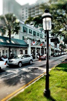 The Riverside Hotel, Las Olas Boulevard, Fort Lauderdale.