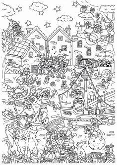 Vorig jaar maakte Suzanne deze leuke kleurplaat al van Sinterklaas. Er zullen ongetwijfeld veel kinderen deze kleurplaat leuk vinden en deze inkleuren en in de schoen stoppen voor Sint en Piet! Veel