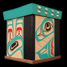 Chief of the Sea Bentwood Box  Lyle Campbell  Haida Nation