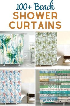 490 best beach shower curtains ideas