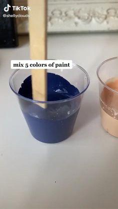 Easy Canvas Art, Simple Canvas Paintings, Small Canvas Art, Mini Canvas Art, Diy Canvas, Canvas Painting Tutorials, Diy Painting, Art Drawings Sketches Simple, Diy Art