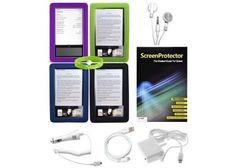 CrazyOnDigital 10-item Accessory Kit for Barnes and Noble Nook 1st Generation eBook Screen Reader by CrazyOnDigital. $15.85. Get stylish when you accessorize your Barnes and Noble Nook eBook Screen Reader with a 10-item Essential Accessory Kit from CrazyOnDigital. This essential accessories bundle is a must have for all Nook owners. Comes with 4 designer protective skin cases, made to custom fit your Nook. You'll be able to match your mood that day with four distinc...