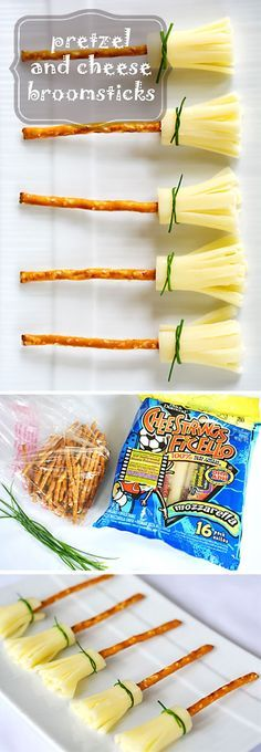Be unique and creative this Halloween, and impress kids and adults alike. With these fun and original food ideas, it will be your best Halloween ever, you'll wish you'd have thought about these ideas before. Fairy Halloween Costumes, Halloween Treats, Halloween Party, Pretzel, Halloween Parties