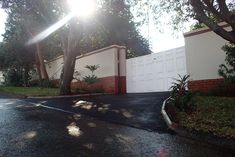 KZN Property Maintenance Services had the pleasure of installing this Asphalt driveway in Portland Crescent upper durban north.  Built to a domestic specification - Asphalt compacted to 25mm  G2 crusher base course compacted to 75mm  With mini curbing to give the driveway a neat and flowing look.  For more information on this and other services we offer please contact us via -  info@kznprop.co.za 0315643855 www.kznprop.co.za Asphalt Driveway, Portland, Base, Mini, Building, Buildings, Construction