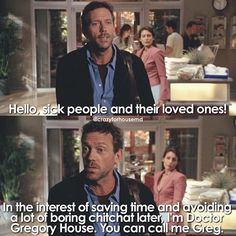 This scene summed up House perfectly Best Tv Shows, Movies And Tv Shows, Funny Picture Quotes, Funny Quotes, House And Wilson, Tv Show House, Sean Leonard, Everybody Lies, Mejores Series Tv