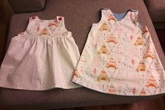 I just falled love with these fabrics. They are so great for little girls dresses.