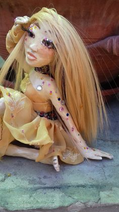Summer beauty art doll