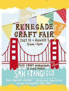 renegade craft fair flyer/eflyer