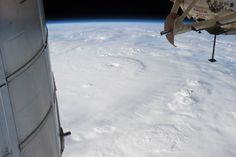 International Space Station  /NASA/Associated Press - 2 December 2012 - Typhoon Bopha is shown moving toward the Philippines; it slammed into the Davao region early 4 December, killing hundreds and forcing more than 50,000 to flee from inundated villages.