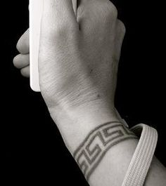 Greek eternity tattoo. maybe around my thumb or a big toe