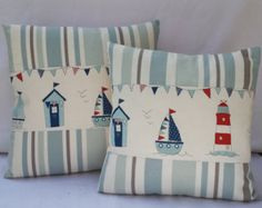 Bicycle Pillow cover/Cushion cover/Cath Kidston by TanusOriginals