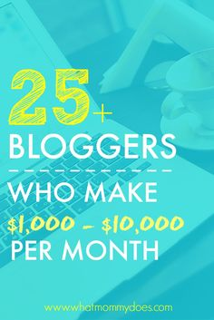 Want to know how much extra money you can earn online from a blog? Here's a sneak peak at bloggers who share their income reports!