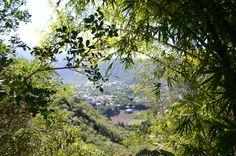 Point de vue du petit village de l'Entre-Deux