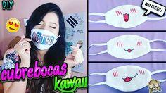 DIY: Haz un Cubre bocas Kawaii ❤🙈 Kawaii Diy, Kawaii Anime, Kpop Amino, Kpop Diy, Mouth Mask Fashion, Anime Crafts, Tapas, Kawaii Fashion, Origami
