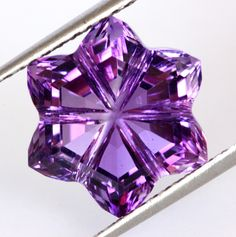 Gem Rock Auctions sells verified Amethyst Gemstones online in all shapes and sizes. Select your favorite Amethyst Gemstones and choose to 'Buy Now' or place a bid. Crystals Minerals, Rocks And Minerals, Crystals And Gemstones, Stones And Crystals, Gem Stones, Swarovski Crystals, Amethyst Jewelry, Amethyst Gemstone, Gems Jewelry