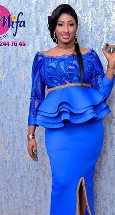 Check out this Gorgeous latest african fashion look African Formal Dress, African Maxi Dresses, African Traditional Dresses, African Dresses For Women, African Wedding Attire, African Attire, Latest African Fashion Dresses, African Print Fashion, African Lace Styles