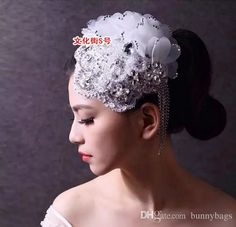 The Manual Customize Lace Wedding Hair Jewelry Bridal Head Flowers 2015 May Style In Stock Hair Accessories For Brides Online Hair Accessories For The Bride From Bunnybags, $35.87| Dhgate.Com