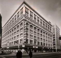 """Crowley's Department Store, Detroit, 1910. """"Buy what thou wilt shall be the whole of the law!"""""""