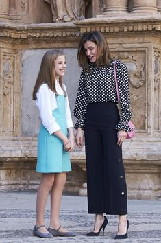 Queen Letizia of Spain attends the Easter mass on April 1, 2018 in Palma de Mallorca, Spain.
