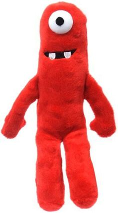 "Yo Gabba Gabba 7"" Talking Plush Muno"