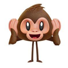 See no evil, hear no evil, speak no evil Emoji Pictures, Emoji Images, Cute Cartoon Pictures, Gif Pictures, Animated Emoticons, Animated Icons, Animated Gif, Emoji Movie, Funny Emoji