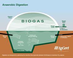 Anaerobic digestion ... #BioDigester #Gasifier #BioGas