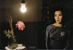 Maggie Cheung in Vogue