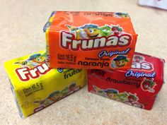 Frunas are similar to Starbursts but, in my opinion, better.