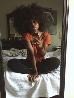 Natural Hair Everything Natural Hair Inspiration, Natural Hair Tips, Natural Hair Styles, Natural Afro Hairstyles, Kid Hairstyles, Beautiful Black Hair, Beautiful Dark Skinned Women, 4c Hair, Black Girl Aesthetic