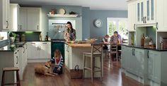 New Cabinets - Wren Kitchens Wells. Cream colour.
