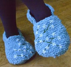 Ginx Craft: Stitchwort Slippers