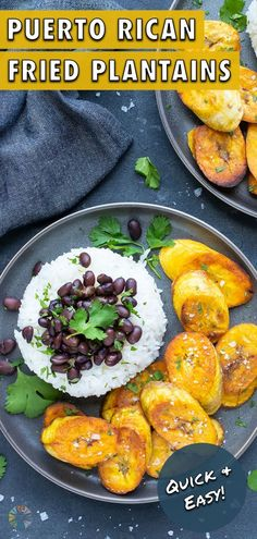 3 reviews · 25 minutes · Vegan Gluten free Paleo · Serves 4 · Fried Sweet Plantains are made on the stove for a healthy, gluten-free, and vegan side. The freshly cut ripe plantains are fried in coconut oil until they're caramelized to perfection. Serve this… Fried Plantain Recipe, Plantain Recipes, Healthy Spring Recipes, Healthy Snacks, How To Cook Plantains, Spring Soups, Ripe Plantain, Vegan Side Dishes, Whole 30 Recipes