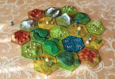 Custom 3D Settlers of Catan Game Board // The Land of by VanGamble